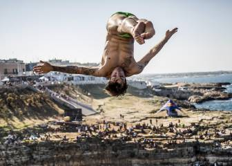 Espectaculares imágenes de la Serie Mundial Red Bull Cliff Diving