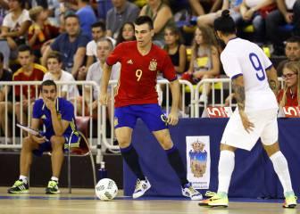 España, en buena línea: ganó a la Portugal de Ricardinho