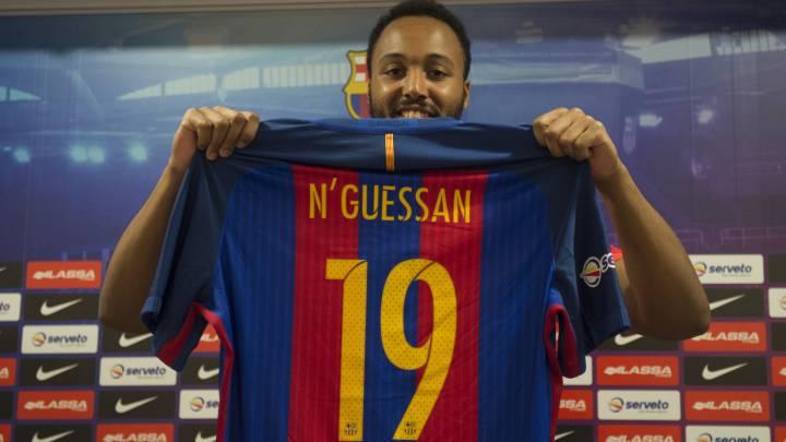 """N'Guessan: """"Venir al Barcelona es un reto que quiero asumir"""""""