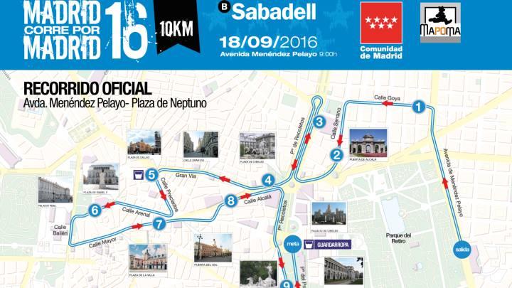 Madrid corre por Madrid 2016: cambio de recorrido y horario