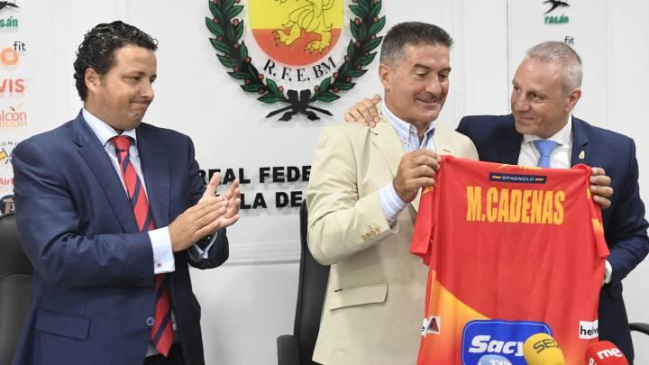 Manolo Cadenas se despide oficialmente de la Selección