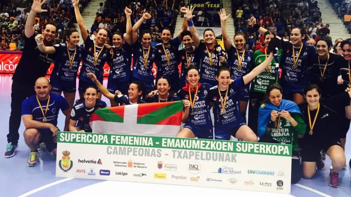 El Bera Bera levanta su quinta Supercopa consecutiva