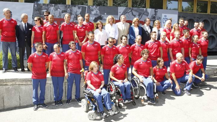 Conoce a los paralímpicos españoles