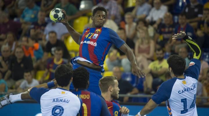 37-26. El Barça se ensaña con el Granollers en la segunda parte