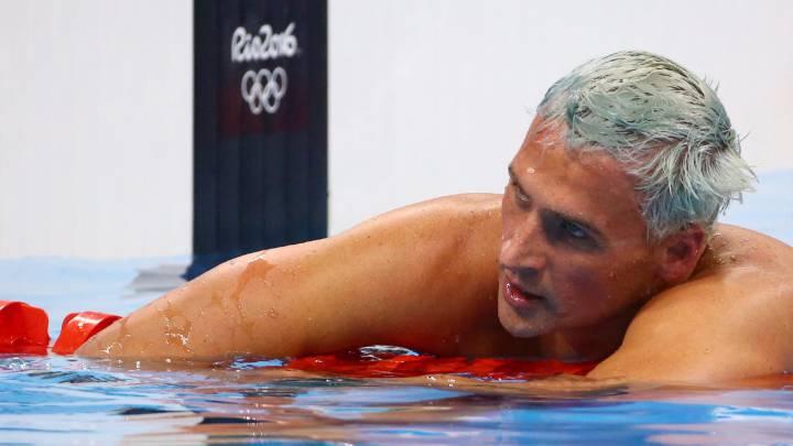 Ryan Lochte, castigado 10 meses tras los incidentes en Río