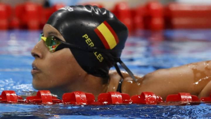 Teresa Perales gana la segunda medalla para España, plata