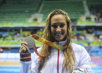 Sarai Gascón, plata en los 200 estilos, suma la octava medalla