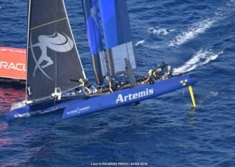 El 'Artemis' sueco se impone en aguas de Toulon