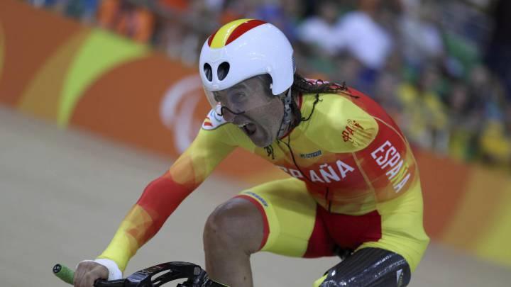 Méndez, de gregario de Mauri a ciclista paralímpico