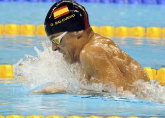 Lluvia de oros en la natación: Salguero, Alonso y Oliver