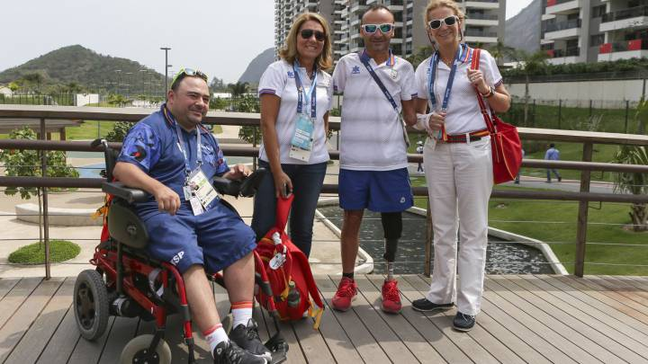 La Infanta Elena visita la Villa Paralímpica de Río de Janeiro