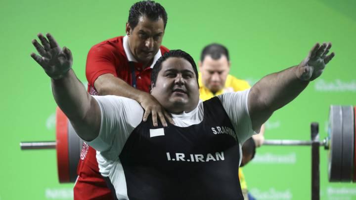 Historia en los Juegos Paralímpicos: ¡levanta 310 kilos!