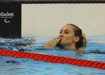 Teresa Perales se reencuentra con la medalla, plata en los 200 estilos