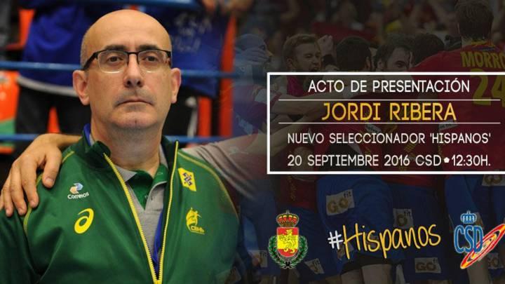 Jordi Ribera sucede a Manolo Cadenas como seleccionador
