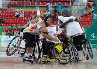 Histórico pase a la final del baloncesto en silla de ruedas