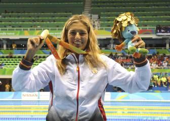 Michelle Alonso, la sirenita de oro que asombra en Río