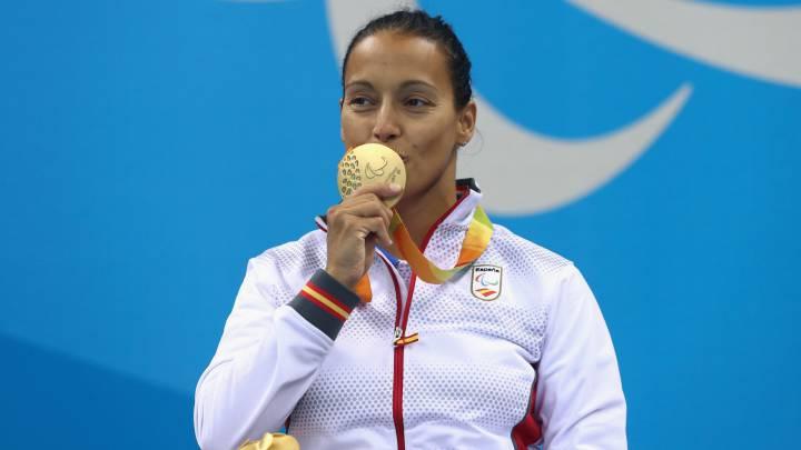 """Teresa Perales: """"Este oro me ha emocionado mucho"""""""