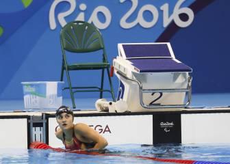 María Delgado gana el bronce en los 50 metros libres S12