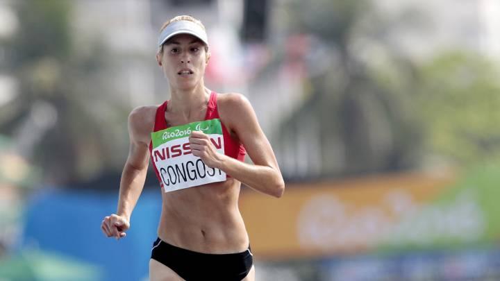 Maratón: Elena Congost logra el oro, y Ait y Suárez, la plata