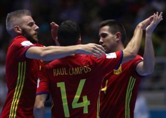 España cumple el trámite y cierra la 1ª fase con pleno