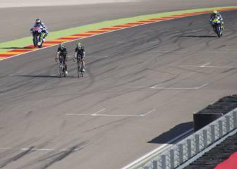 Motos y bicis comparten pista
