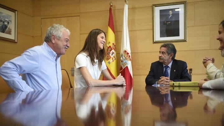 Cantabria concede la medalla al mérito deportivo a Ruth Beitia