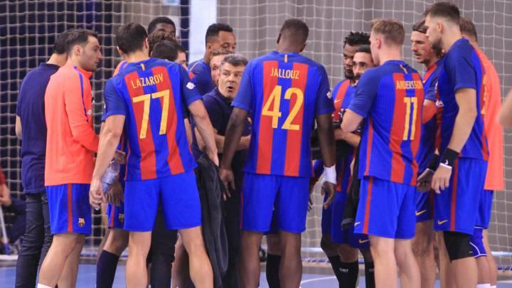 34-15. El Barça se entrenó con el Cuenca pensando en Polonia