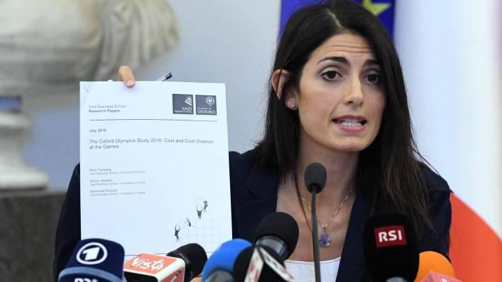 La alcaldesa de Roma planta a la candidatura olímpica de 2024