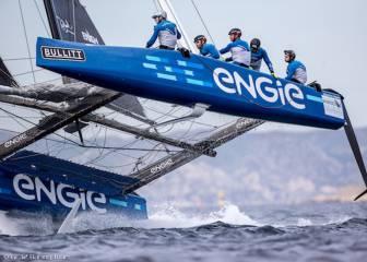 El desafío de los 'catamaranes voladores' llega a Sotogrande