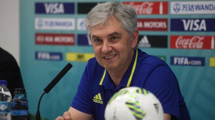 """José Venancio López: """"Hemos sido superiores los 40 minutos"""""""