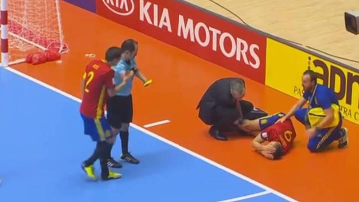 "Sergio Lozano sufre rotura del cruzado: ""Me voy orgulloso"""