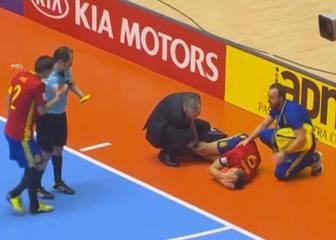 Sergio Lozano sufre rotura del cruzado: