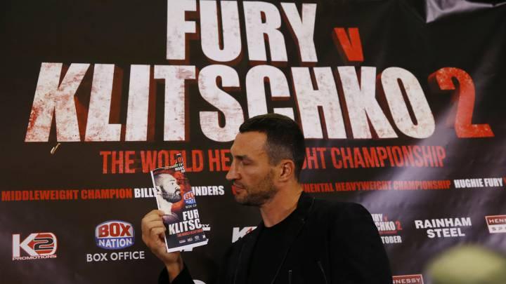 Fury 'planta' a Klitschko y aplaza por segunda vez su pelea