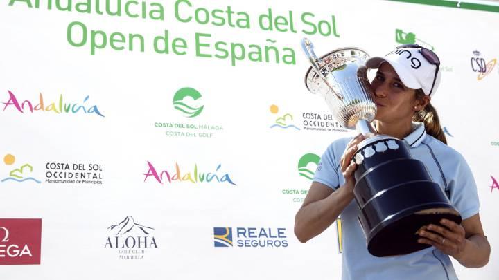 Azahara Muñoz se proclama campeona del Open de España