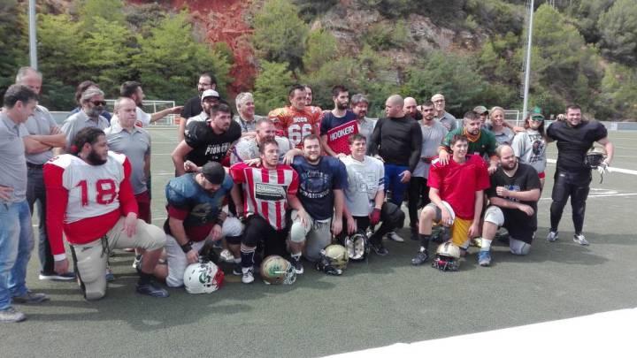La F6L de Arena football echa a andar en España