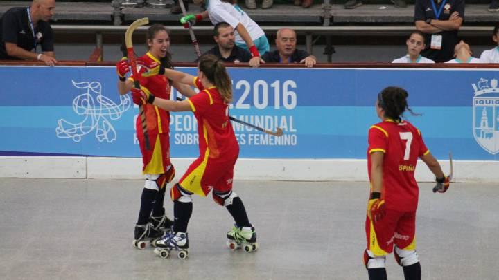 España debuta con una cómoda victoria contra Portugal