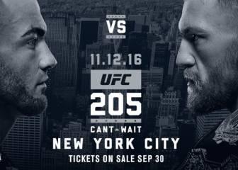McGregor y Álvarez se medirán en el UFC 205 en Nueva York