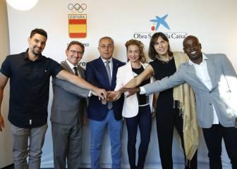 El COE y La Caixa acuerdan apoyar a deportistas retirados