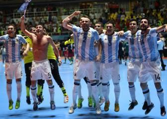 Argentina frena a Ricardinho y jugará la final del Mundial