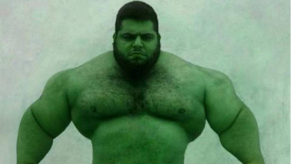 Sajad Gharibi Aka The Quot Iranian Hulk Quot Is Ready To Fight In