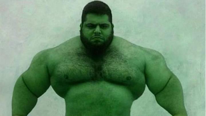 Sajad Gharibi, el Hulk iraní, listo para pelear en la WWE