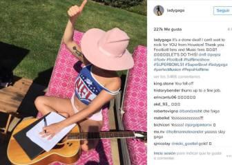 Lady Gaga desvela en Instagram que cantará en la Super Bowl
