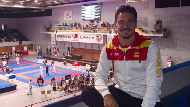 Damián Quintero, campeón de la Liga Mundial de kárate