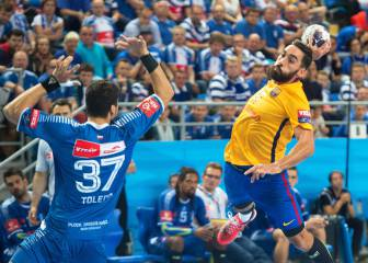 26-25. El Barça sale ileso del primer gran partido del año