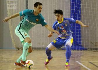 Arranca la LNFS: cae el Barça y doblete de Ricardinho