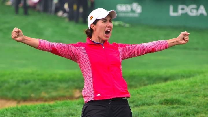 Ciganda gana por primera vez en el circuito LPGA americano