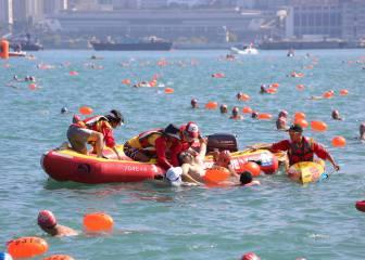 Un muerto durante la travesía del puerto de Hong Kong