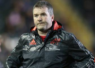Munster head coach Anthony Foley dies in Paris hotel