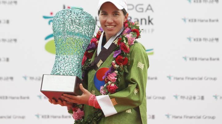 Ganadoras en el LPGA: Recari, Figueras-Dotti, Muñoz y Ciganda