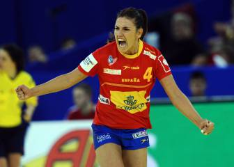 Carmen Martín, en el siete ideal de la Champions femenina